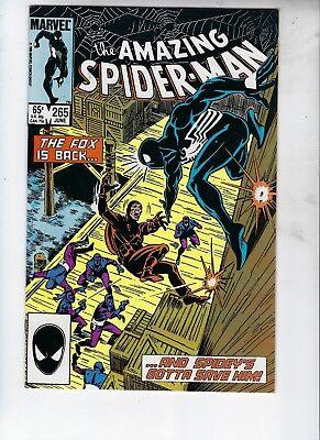 Amazing Spider-Man #265, MINT, First Silver Sable, The Fox, Perfect