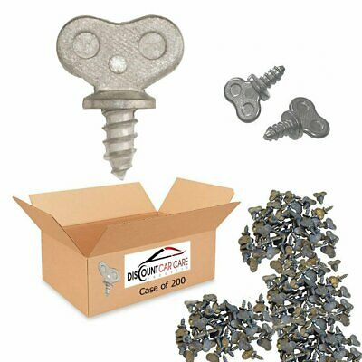 Dealer License Plate Thumb Screws in Bulk - 250 Case (No Screw Driver Needed)