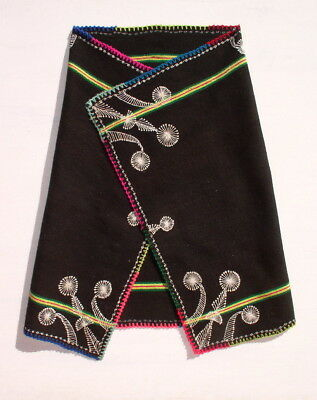 HOLY WOMAN´S AYMARA INDIAN SHAWL Hand-woven Vintage Age TM9990