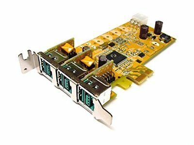 Dell Sunix 3-port 12V Powered USB PCI Express SFF Add-On Card PUB0300XL 8R06D