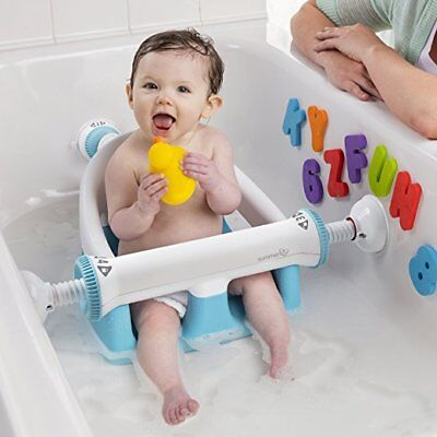 Summer Infant My Bath Seat, Baby Bathtub Seat For Sit-Up Bathing W/secure Suctio