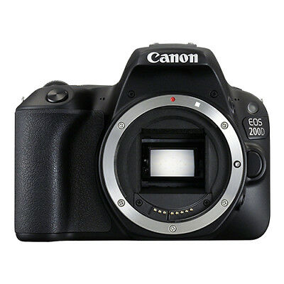 Canon EOS 200D / Rebel SL2 Digital SLR Camera Body 24.2MP Wi-Fi Brand New