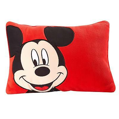 Disney Mickey Toddler Decorative Pillow, Red