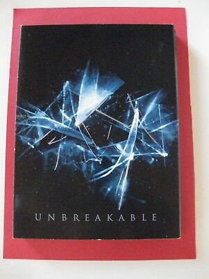 Unbreakable DVD (2000) Widescreen Bruce Willis Samuel L Jackson 2 Disc Set