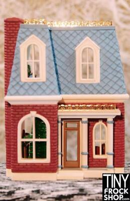 Dollhouse For Barbie! Blue/Red Victorian