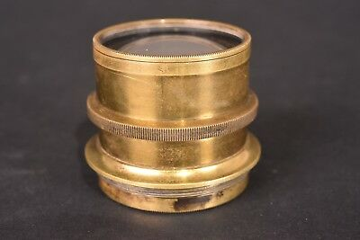 Lens brass f/8 - 210mm. Very good condition