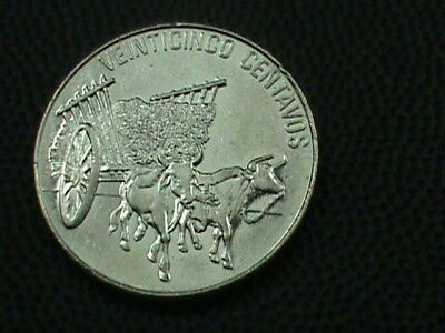 DOMINICAN    25 Centavos   1989   ,   $ 2.99  maximum  shipping  in  USA