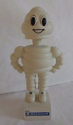 """Michelin Man  Bobble-Head"",   AKA:  Bibendum (Bib),   Limited Promotional Item"