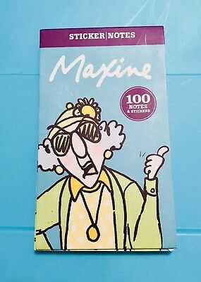 "Sticker Notes ""Maxine"""