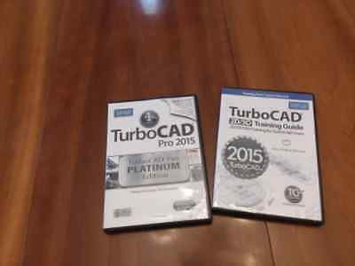 TurboCAD Pro 2015 Platinum Edition w/ TurboCAD 2D/3D Training Bundle