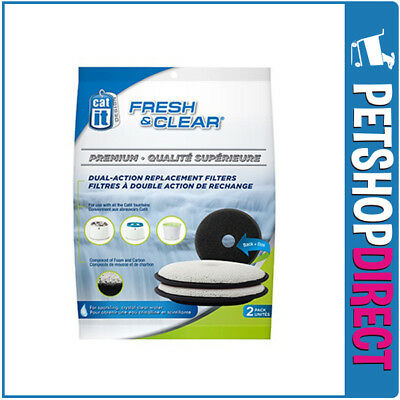 Catit Fresh & Clear Premium replacement Filters 2 Pack