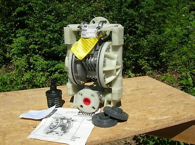 Versa-Matic Model E1-P Polypropylene Pump-Nordel