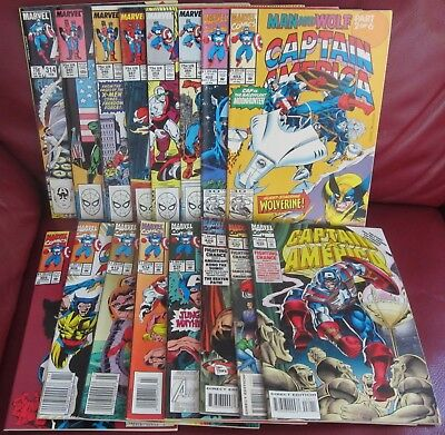 Captain America Lot - 16 Issues - FN To VF