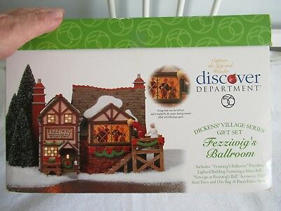 Department 56 Dickens' Village Fezziwig's Ballroom Animated Lighted