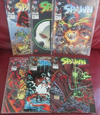 Spawn Lot - 6 Issues - Average VF