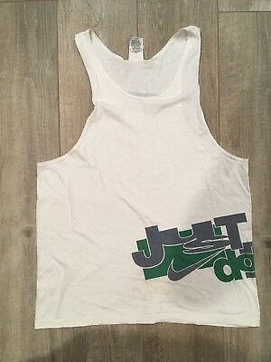 d31f19ba Vintage 90s Nike Gray Tag Tank Top Shirt Size Large Made In Usa Just Do It