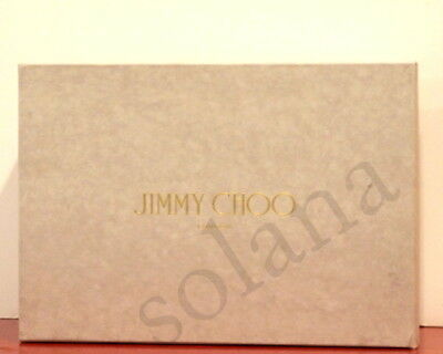 Jimmy Choo Beige Empty Shoe Box for PUMP Wedge Platform Sandals 100% Authentic