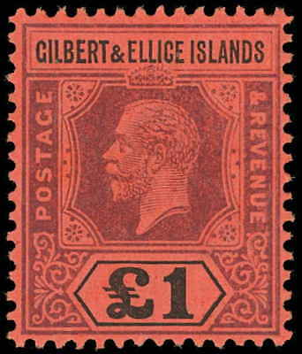 Gilbert and Ellice Islands Scott 26 Gibbons 24 Never Hinged Stamp