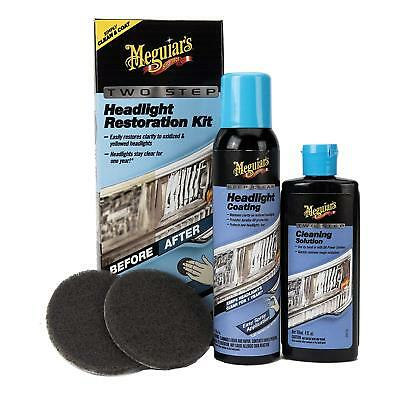 Meguiars Two-Step Headlight Restoration Kit G2970