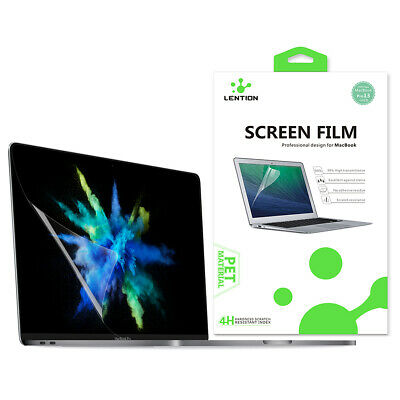 MacBook Pro 15 Screen Protector Clear Real HD Guard Film Skin Cover(A1707/A1990)