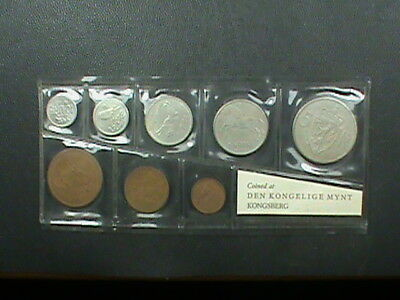Norway  1965  Mint  Set  1,800  Sets Made ! , Extremely  Rare