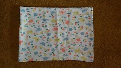 Clevamama baby pillow cover replacement 100% cotton cover 40x25 cm 16x10 inch