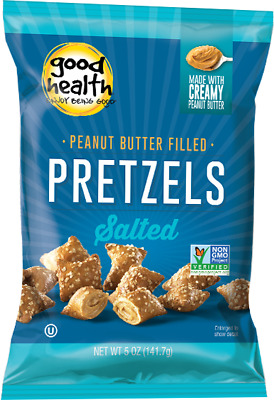 Good Health Peanut Butter Filled Pretzels Salted 141g