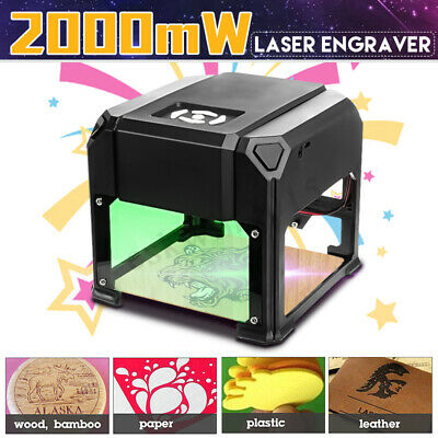 2000mW USB Desktop Laser Engraving Machine Mark Logo Marking Engraver Carver DIY