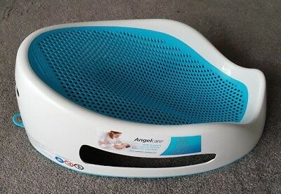 Angelcare Baby Bath Support white & blue in fab condition