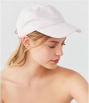 71305ea7c45c1 Urban Outfitters Women s Washed Canvas Baseball Hat Pink