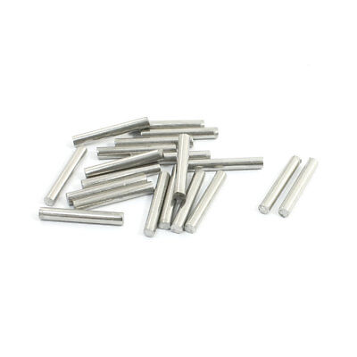 20Pcs Stainless Steel 20mm x 3mm Round Rod Stock for RC Airplane Model