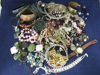 A Large Job lot of costume jewellery