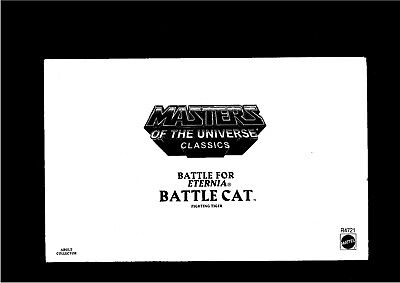 Masters of the Universe Classics Battle Cat R4721 (2009)