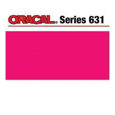 NEW Oracal 631 Matte Adhesive Vinyl 12In. X24in.  Sheet - Pink