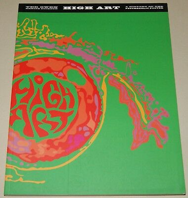 HIGH ART A History of the Psychedelic Poster Bildband Fotobuch Softcover