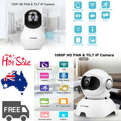 720P/1080P WiFi Wireless IP Camera CCTV Security System Monitor Night Vision New