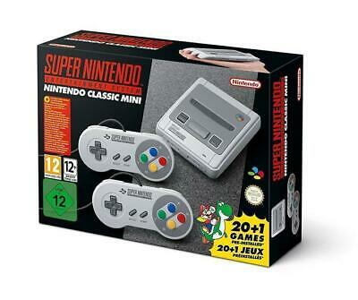 Nintendo Classic Mini SNES inkl. 21 Spiele Super Nintendo Entertainment System
