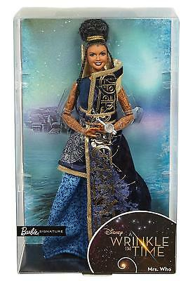 BNIB Barbie Signature Collectors Mrs Doll Mrs. Which Mrs. Who
