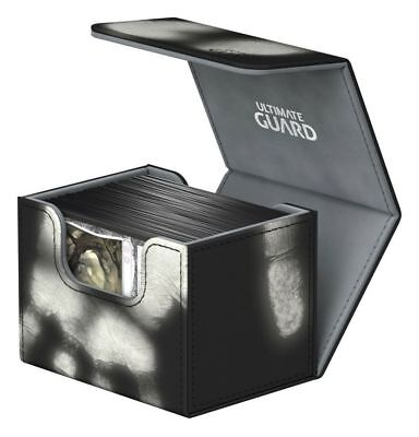 Ultimate Guard - Side Winder chromiaskin Deck Case 100+ Black Gaming X-Ray Box