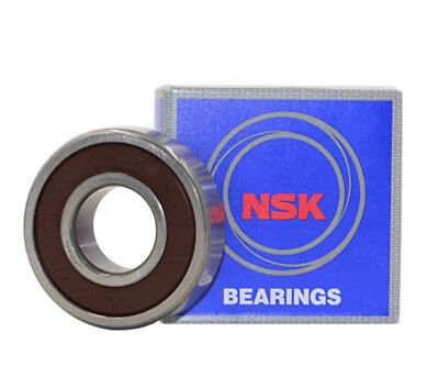 NSK 6301 DDU Deep Groove Radial Ball Bearing 12x37x12mm
