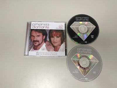 718- Pimpinela Diamante Cd 12 Tracks Dvd 30 Tracks  Año 2008 Spain