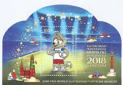 Russia 2017 Block ** Fifa World Cup 2018 Official Mascot