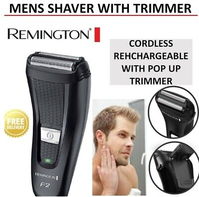 Remington X-System Dual Shaver Rechargeable Cordless Electric Razor Mens Shave