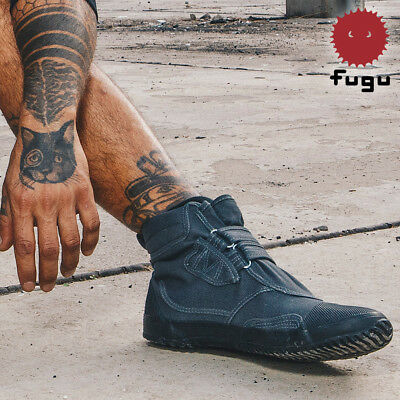 63c8c3fbae6 BLACK FUGU KA-NI Unisex Japanese Shoes & Boots. Perfect Burning Man ...