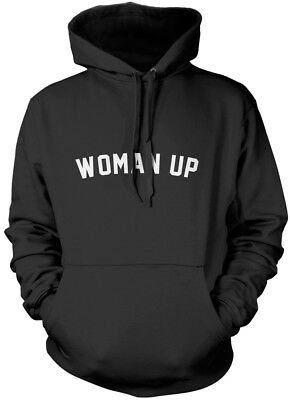 Woman Up - Feminist Power Girl Gang Girls Can Determined  Unisex Hoodie