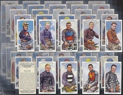 Players-Full Set- Speedway Riders (50 Cards) - Exc