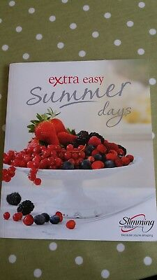 NEW SLIMMING WORLD'S  EXTRA EASY SUMMER DAYS Recipe Book