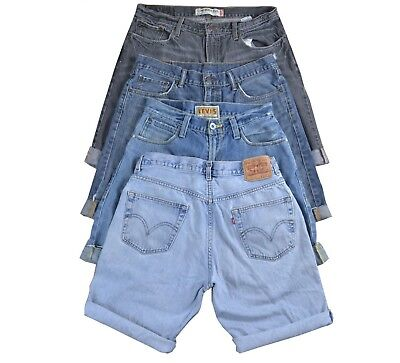 10 Pcs Vintage Levis Mens Shorts Wholesale Random Colours Sizes