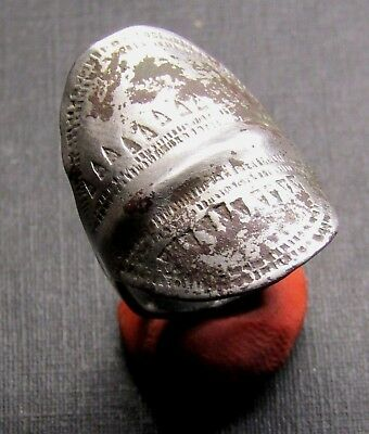 Ancient SILVER Viking Twisted Ring.