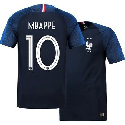 MAILLOT FOOT FRANCE MBAPPE 2 ETOILES  NEUF taille S/M/L/XL